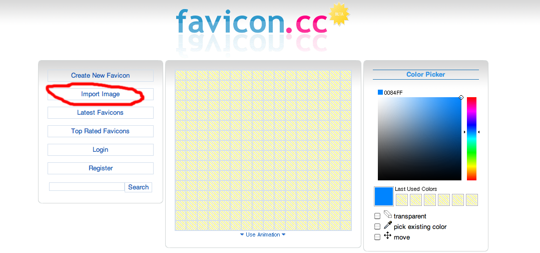 how to create a favicon in photoshop cc