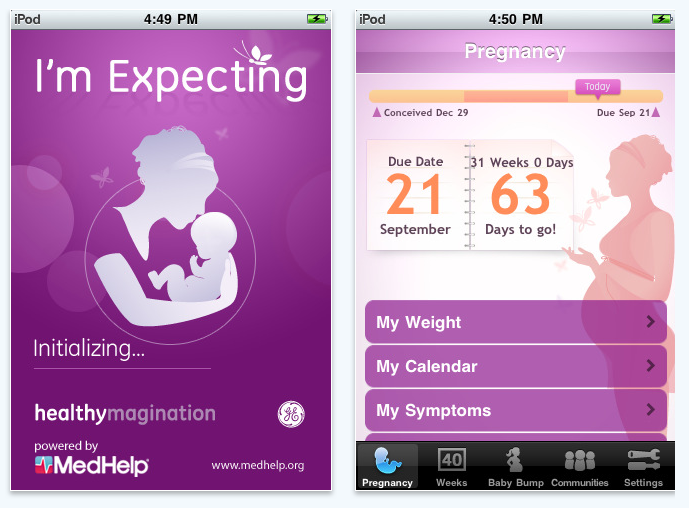 Top 10 Free Pregnancy iPhone Apps