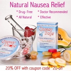 Natural Morning Sickness Relief Queasy Pops