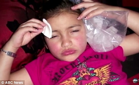 Botox Shots on 8 Year Old Daughter, Britney