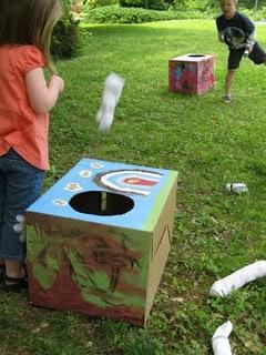making cornhole game