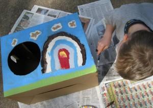 making a cornhole game