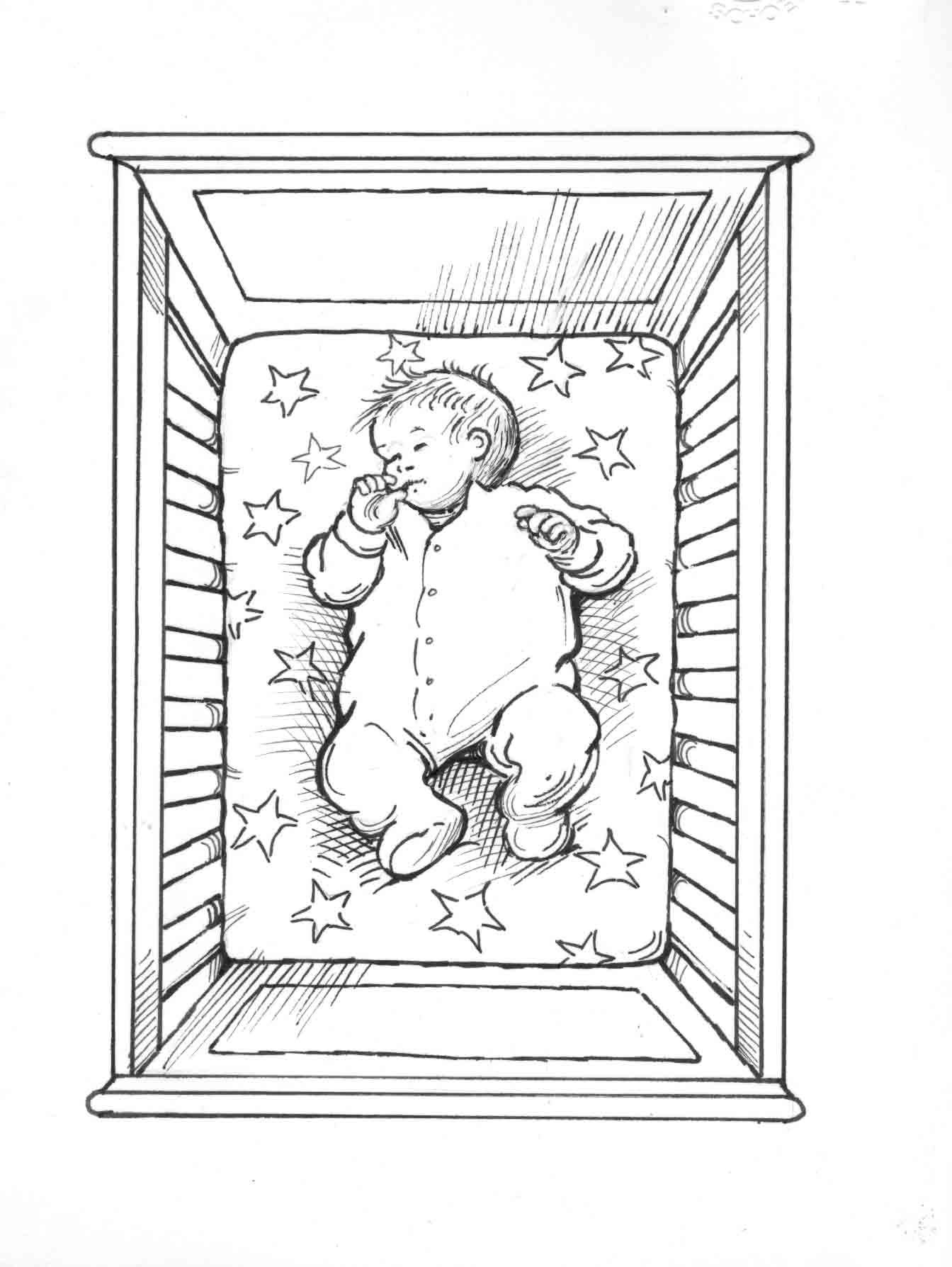 bare crib is safest for baby