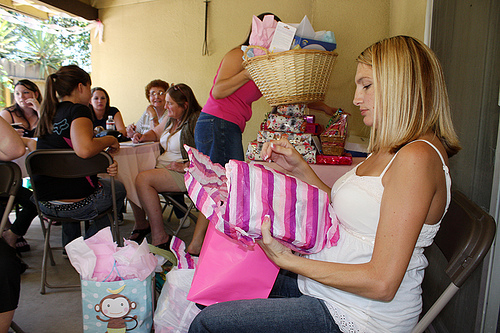 planning baby shower