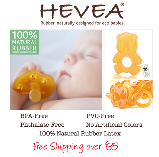 HEVEA Orthodontic Pacifiers and Baby Products